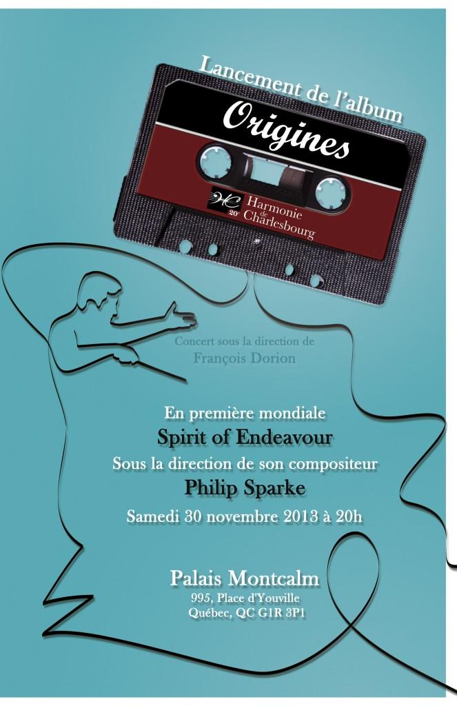 Affiche Concert Origines 30 Novembre 2013