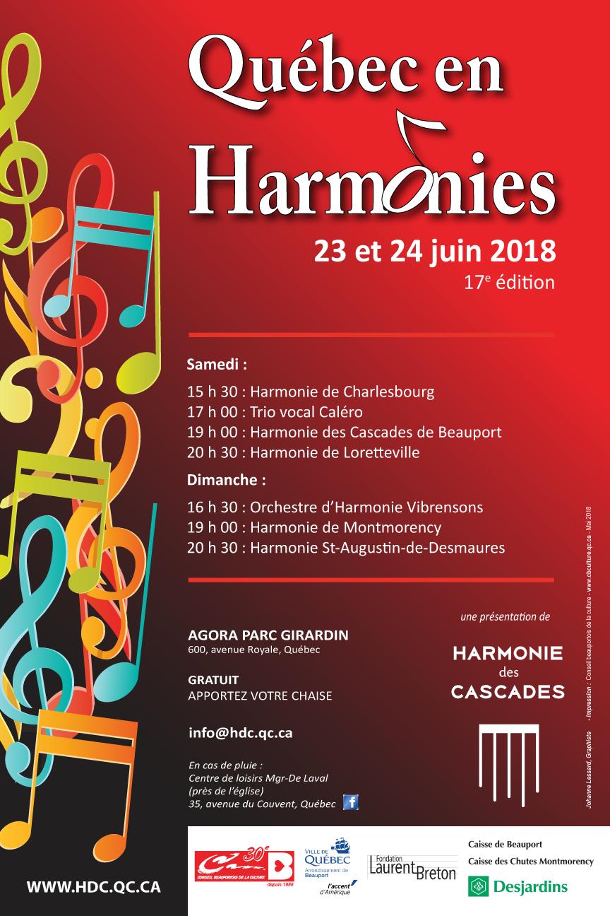 quebec en harmonie 2018